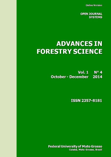 View Vol. 1 No. 4 (2014): Advances in Forestry Science