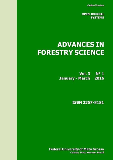 View Vol. 3 No. 1 (2016): Advances in Forestry Science
