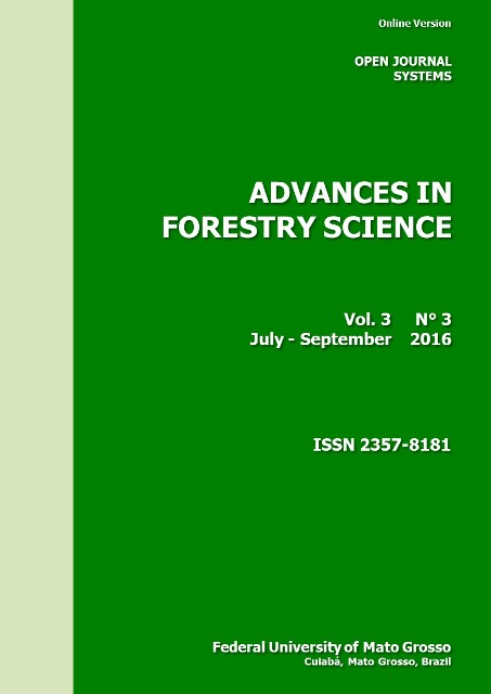 View Vol. 3 No. 3 (2016): Advances in Forestry Science