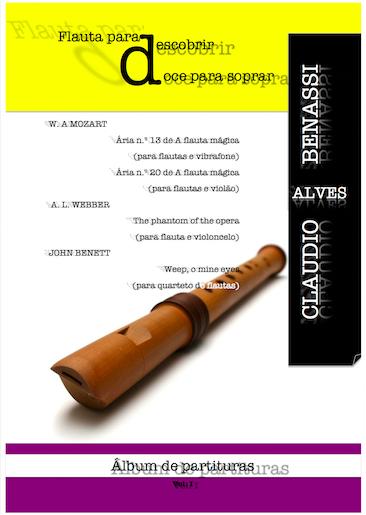 Visualizar Flauta para descobrir doce para soprar