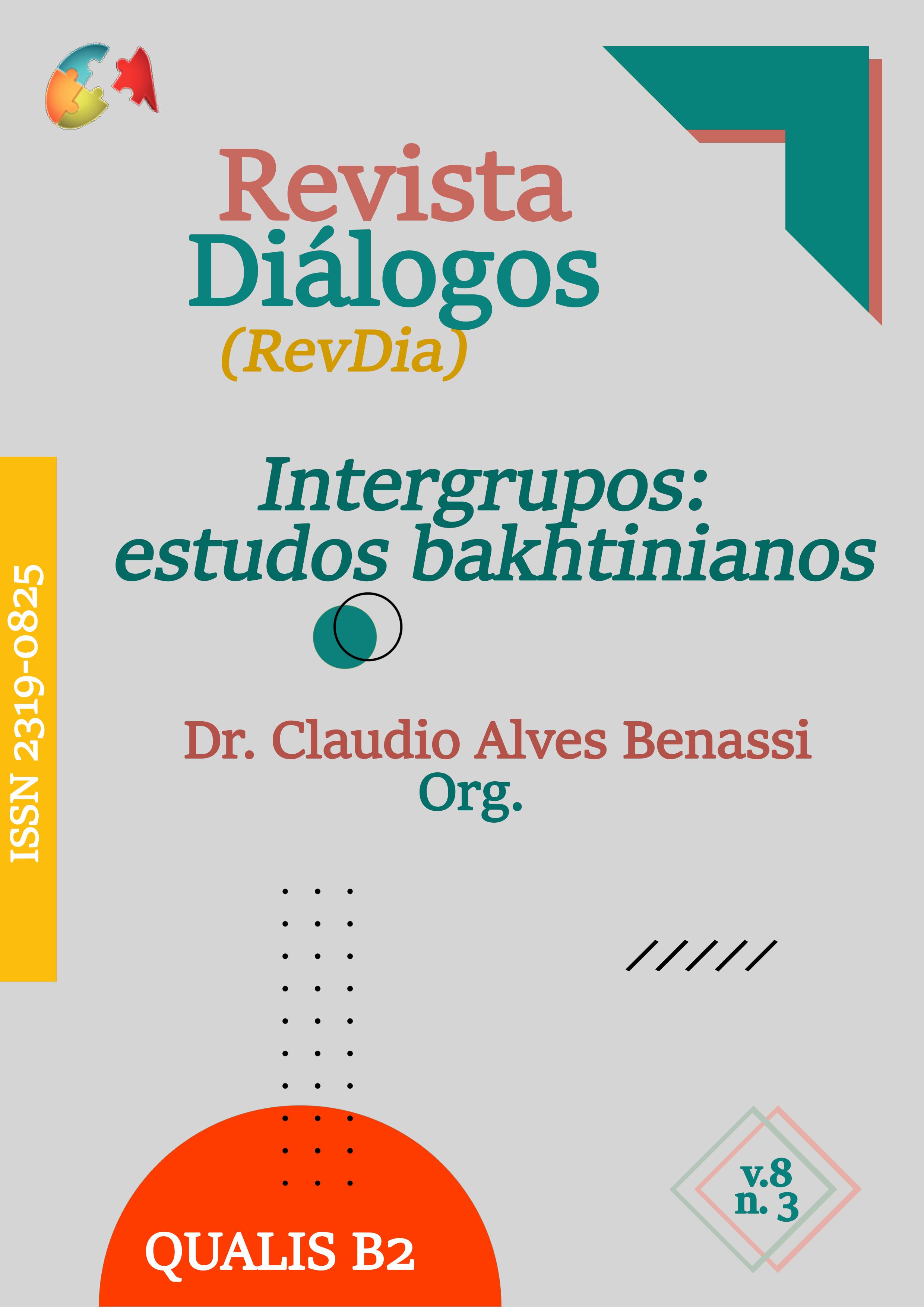 Visualizar v. 8 n. 3 (2020): Intergrupos: estudos bakhtinianos