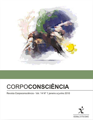 Visualizar Revista Corpoconsciência, v. 14, nº1, jan./jun., 2010