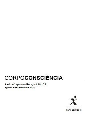 Visualizar Revista Corpoconsciência, v. 18, nº2, jul./dez., 2014