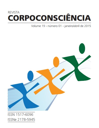 Visualizar Revista Corpoconsciência, v. 19, nº1, jan./abr., 2015