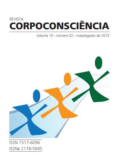 Visualizar Revista Corpoconsciência, v. 19, nº2, mai./ago., 2015