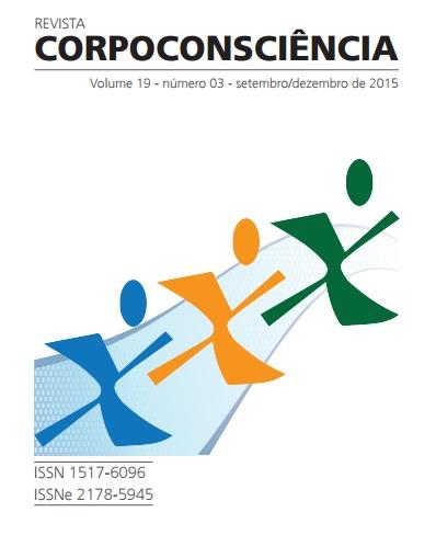 Visualizar Revista Corpoconsciência, v. 19, nº3, set./dez., 2015