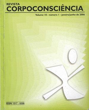 Visualizar Revista Corpoconsciência, v. 10, nº1, jan./jun, 2006