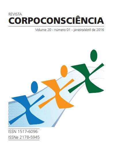 Visualizar Revista Corpoconsciência, v. 20, nº1, jan./abr., 2016