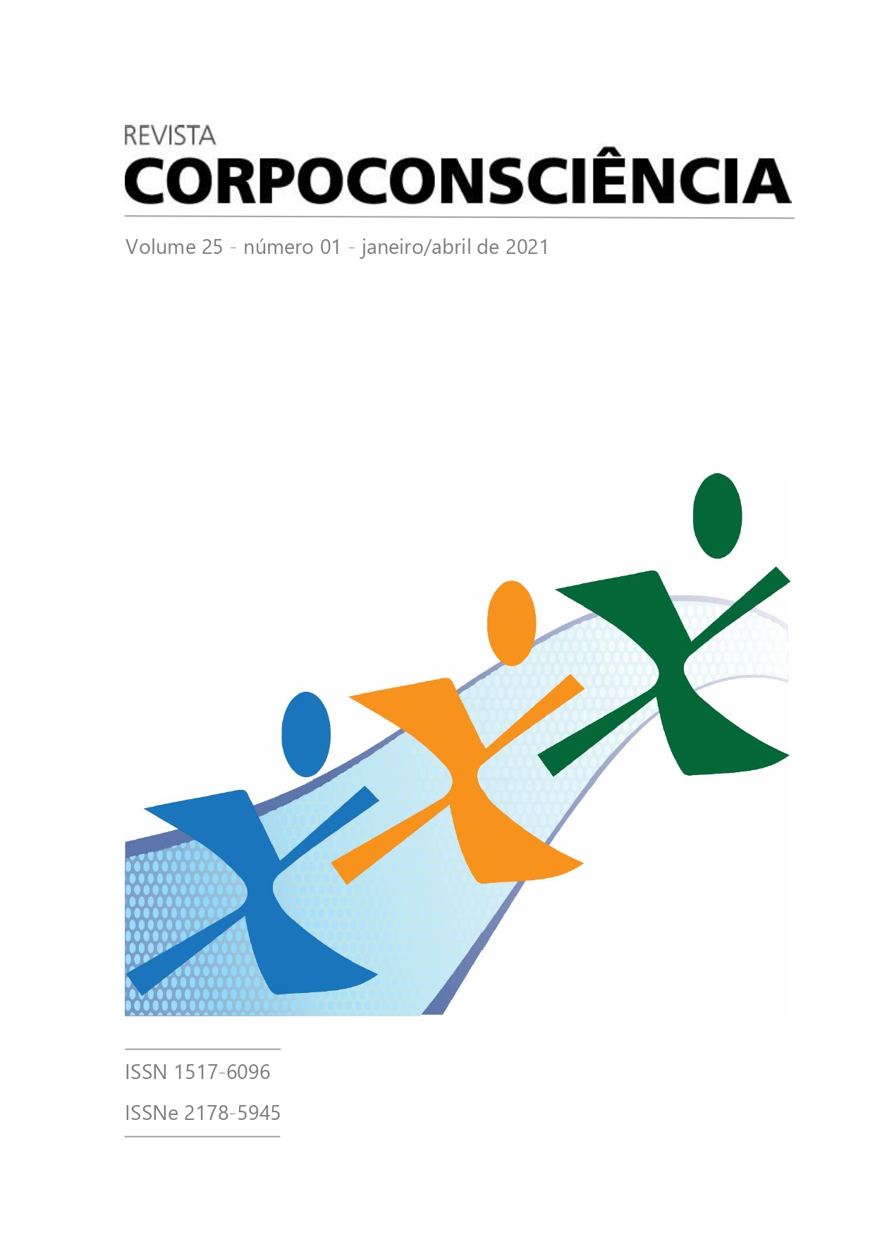 Visualizar Revista Corpoconsciência, v. 25, n. 1, jan./ abr., 2021