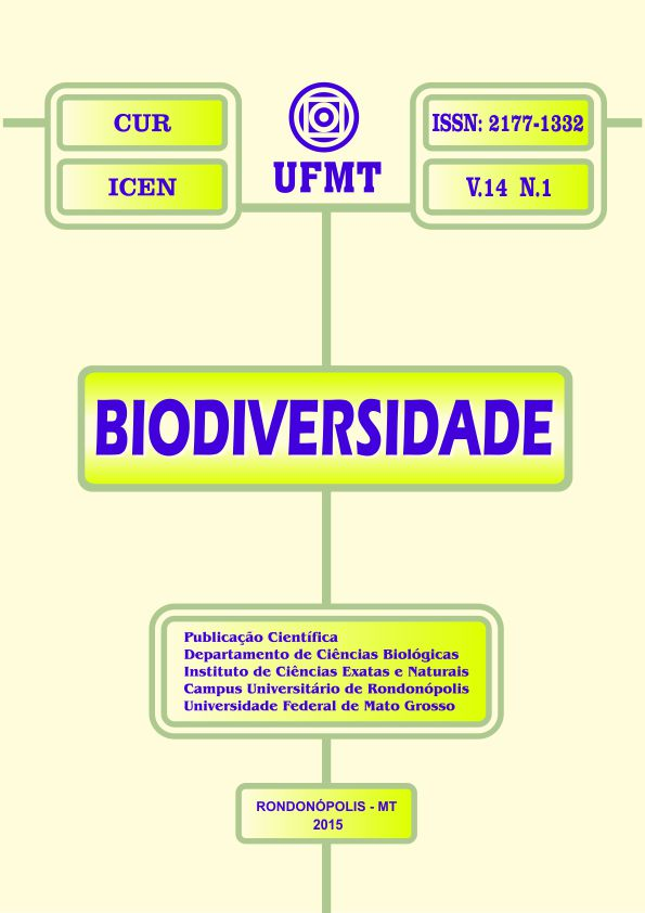 Visualizar v. 14 n. 1 (2015): Revista Biodiversidade