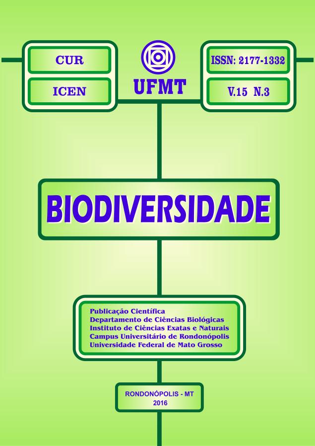 Visualizar v. 15 n. 3 (2016): Revista Biodiversidade