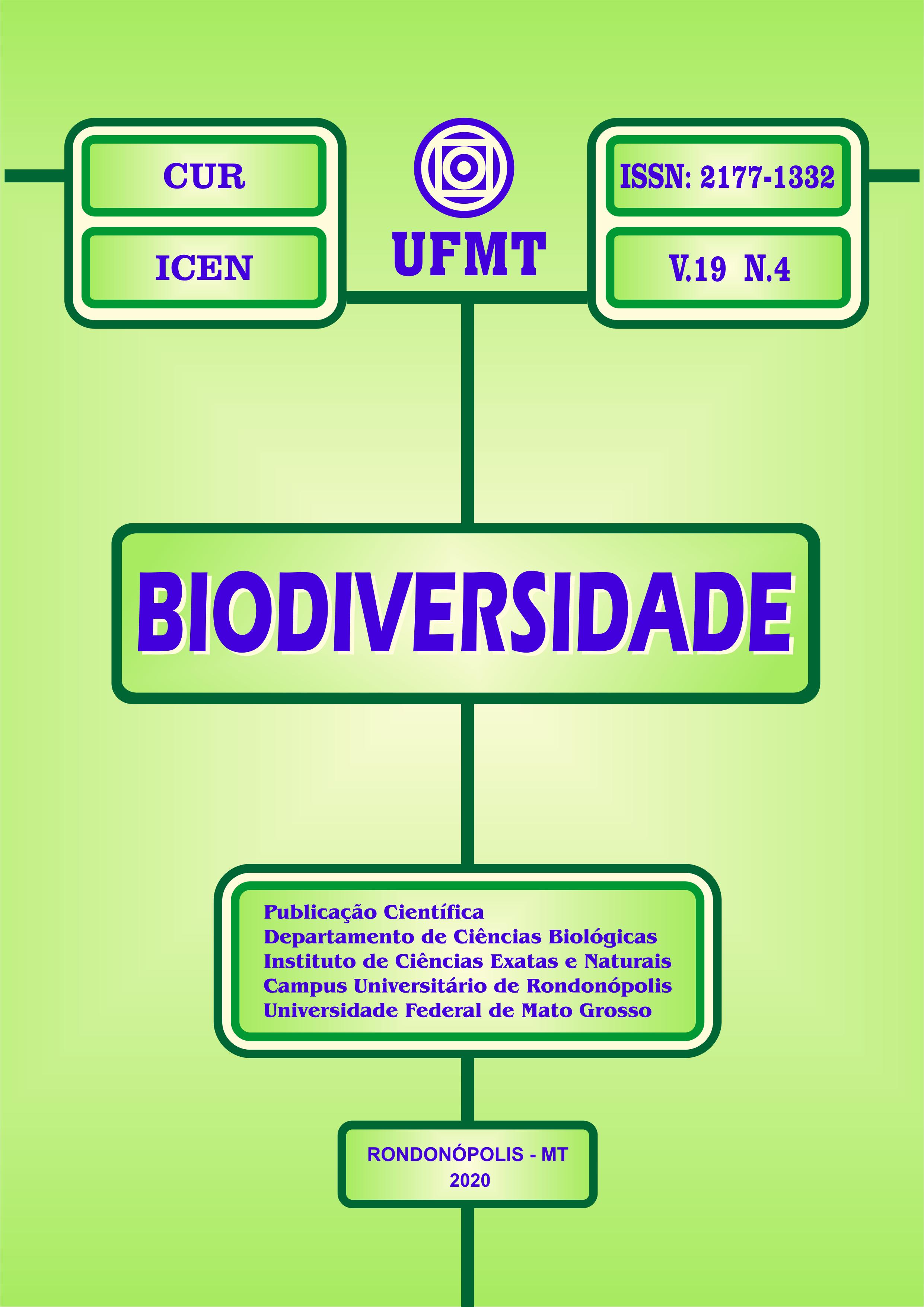 Visualizar v. 19 n. 4 (2020): REVISTA BIODIVERSIDADE