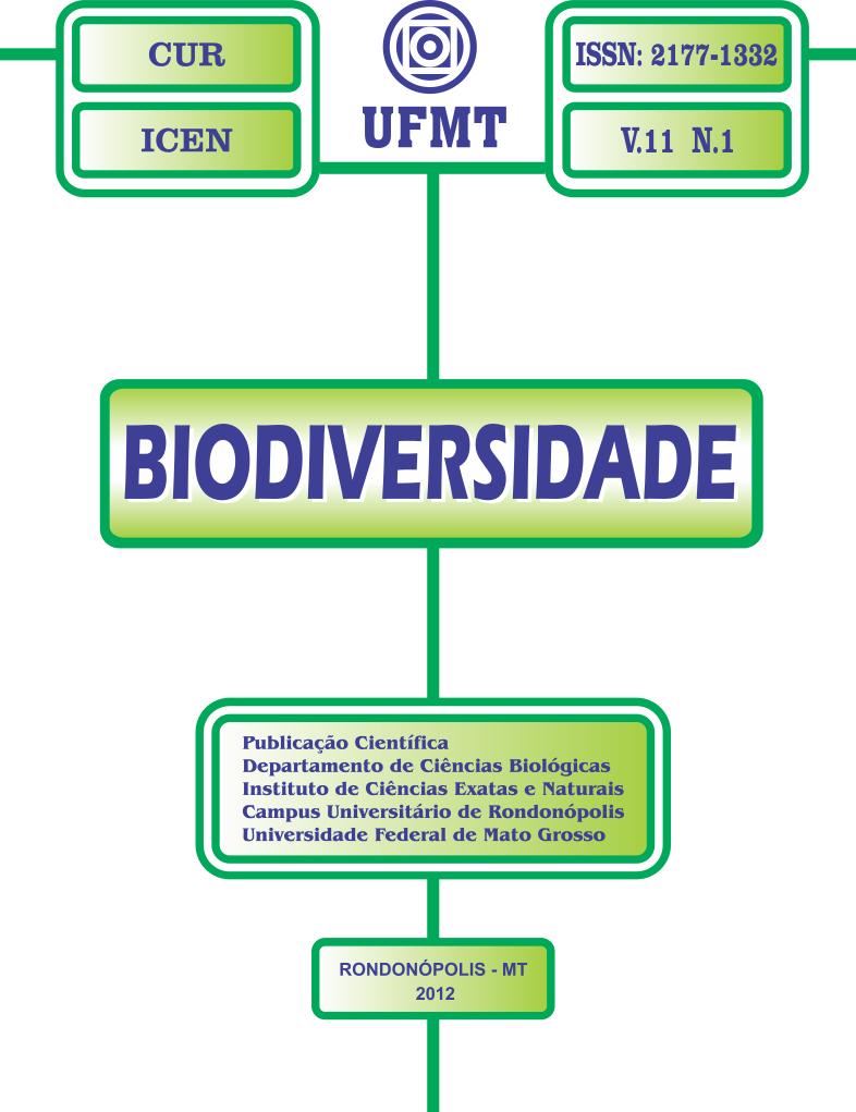 Visualizar v. 11 n. 1 (2012): Biodiversidade