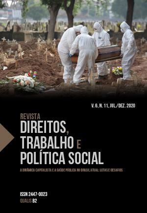 Visualizar v. 6 n. 11 (2020): Revista Direitos, Trabalho e Política Social