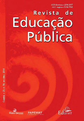 Visualizar v. 23 n. 54 (2014): Revista de Educação Pública, set./dez.  2014