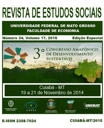 Edição Especial - 3º Congresso Amazônico de Desenvolvimento Sustentável